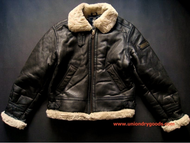 FS: Vintage B3 Leather Shearling Bomber Jacket   A2 Leather Pilot ...